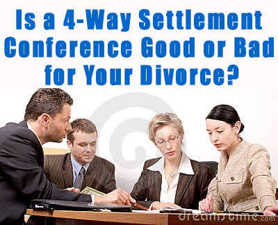 Divorce Attorney Long Island: 4-Way Settlement Conference