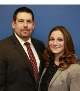 Long Island Divorce Law Firm partners Robert E. Hornberger, Esq. & Christine M. Verbitsky, Esq.