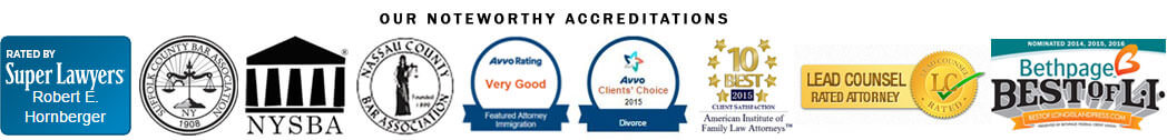 Long Island Divorce Attorneys Accreditations
