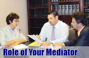 divorce mediator role