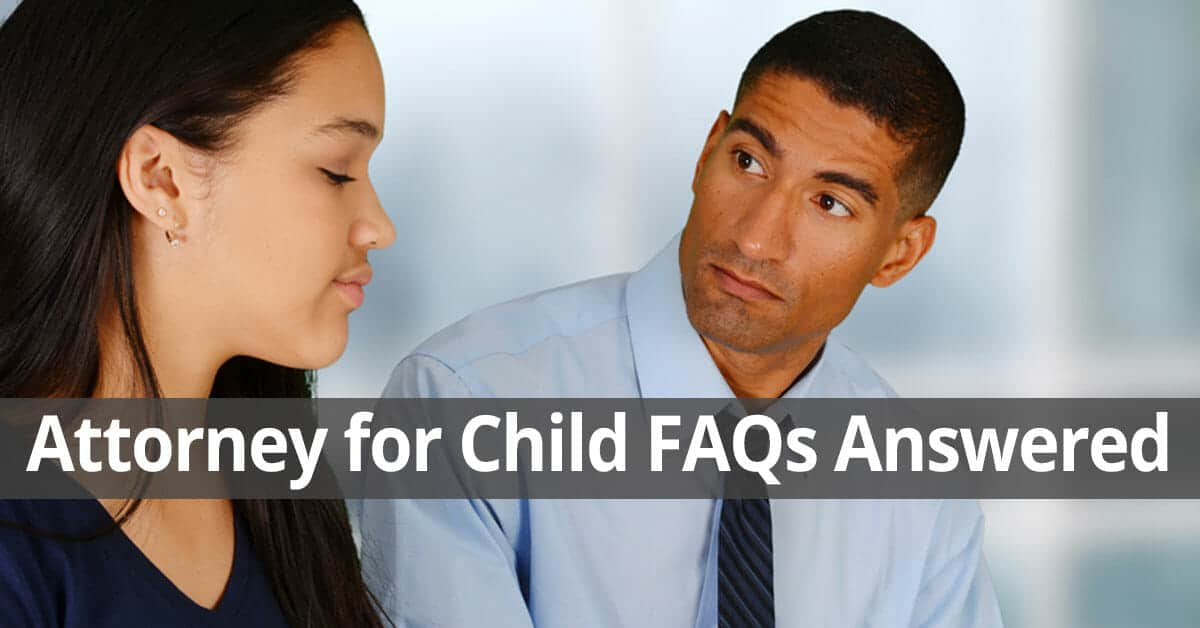 Attorney for Child FAQs Long Island New York