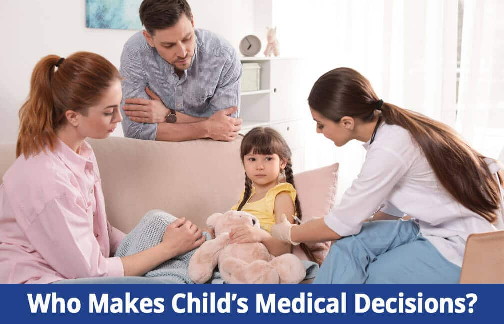 How Divorced Parents Make Medical Decisions for Children