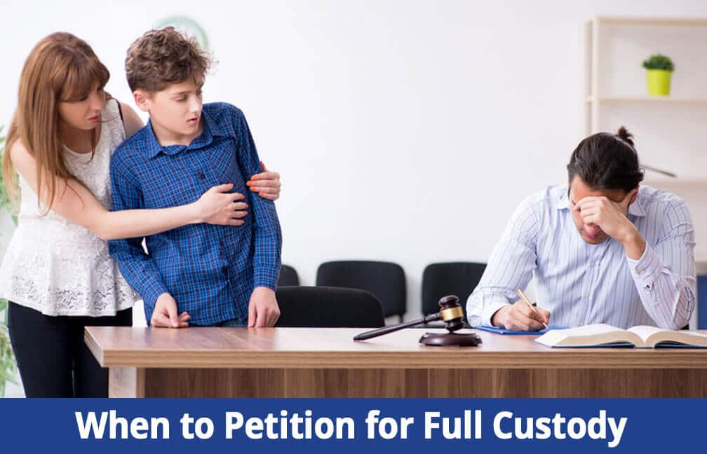 when to file for full child custody